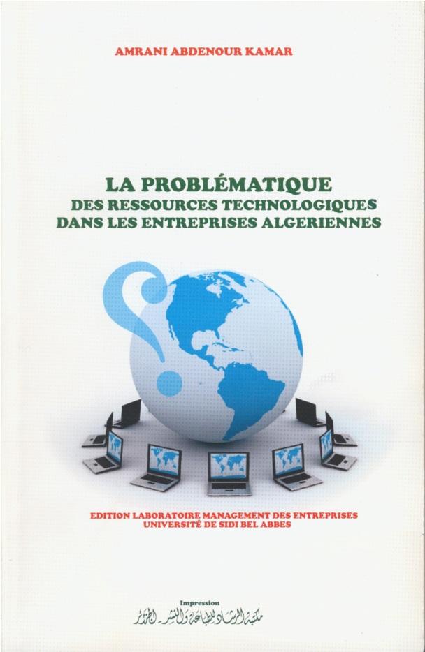 La Problmatique Des Ressources Technologiques Dans Les Entreprises