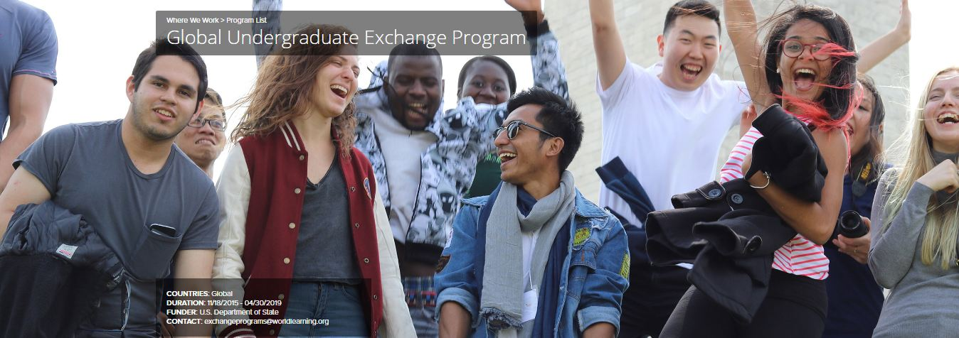 global undergraduate exchange2018